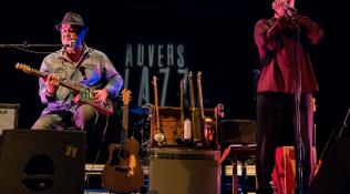 Concert du duo blues Lefty Dom et Lionel  da Silva